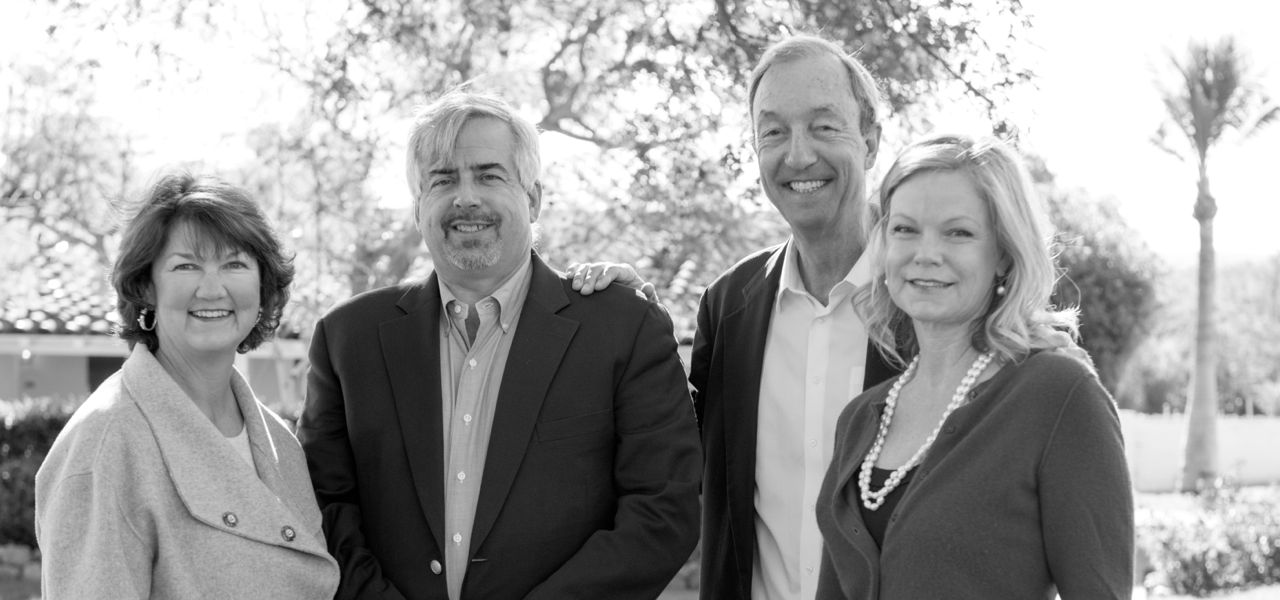 Donna Walker, Rick Sapp, Neil Hokanson, Gigi Fenley in Rancho Santa Fe, California