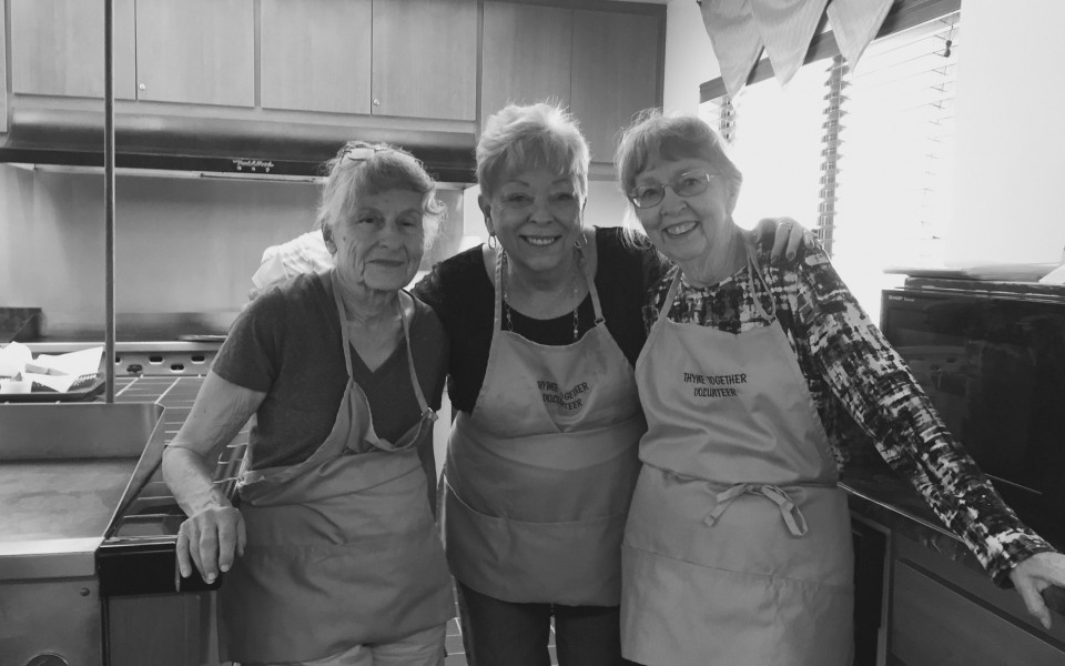 Food Truck North County Senior Connections Volunteers
