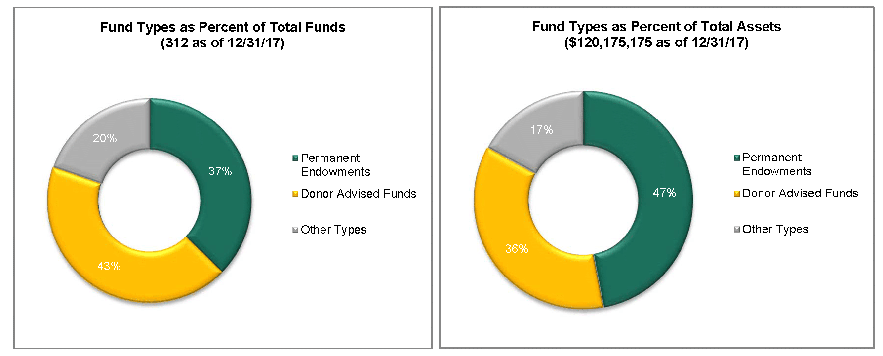 RSF Foundation Fund Types