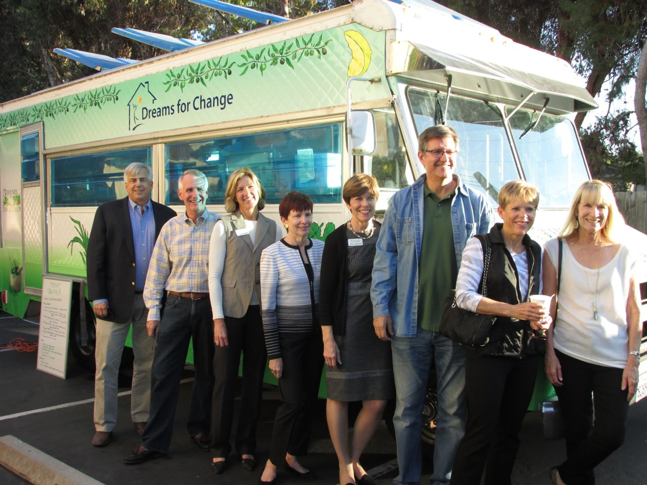 Nonprofit San Diego Food Truck with Board of Directors