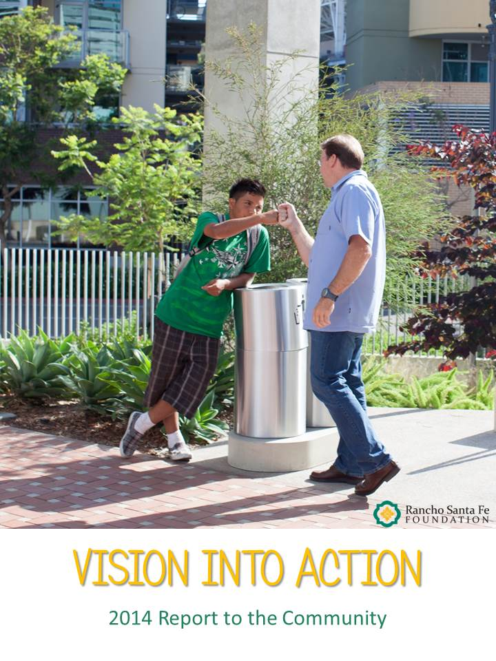 Vision Into Action 2014 Report to the Coummunity