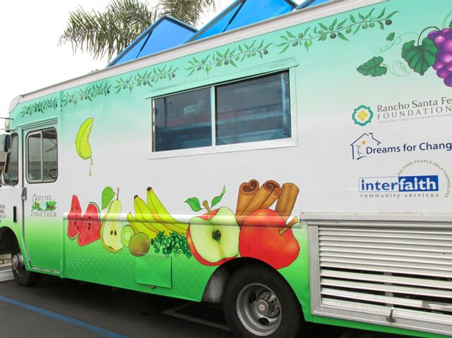 Food Truck Supported by Rancho Santa Fe Foundation