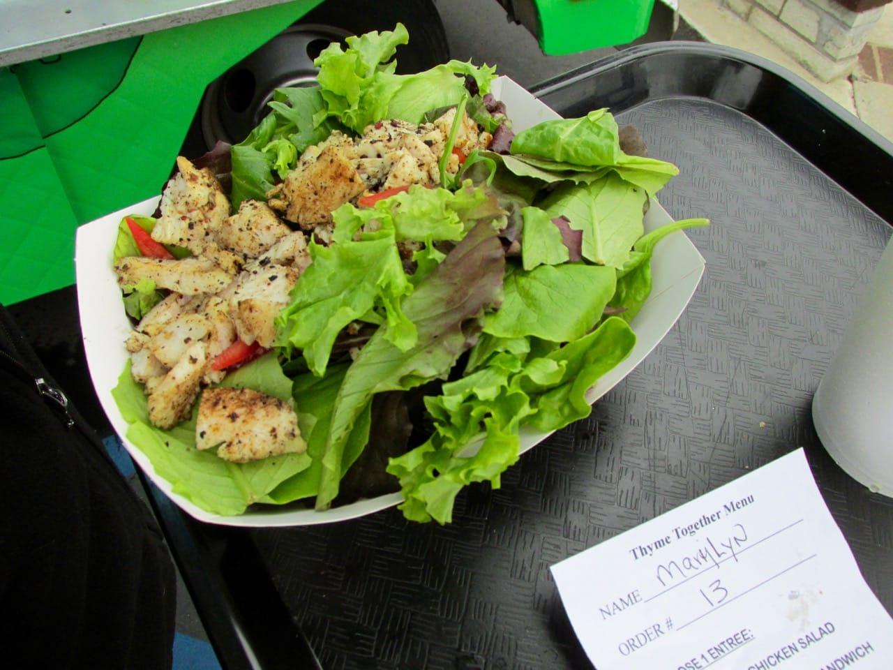 Salad for Thyme Together Menu