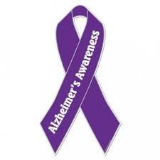 Alzheimer's Awareness Bow