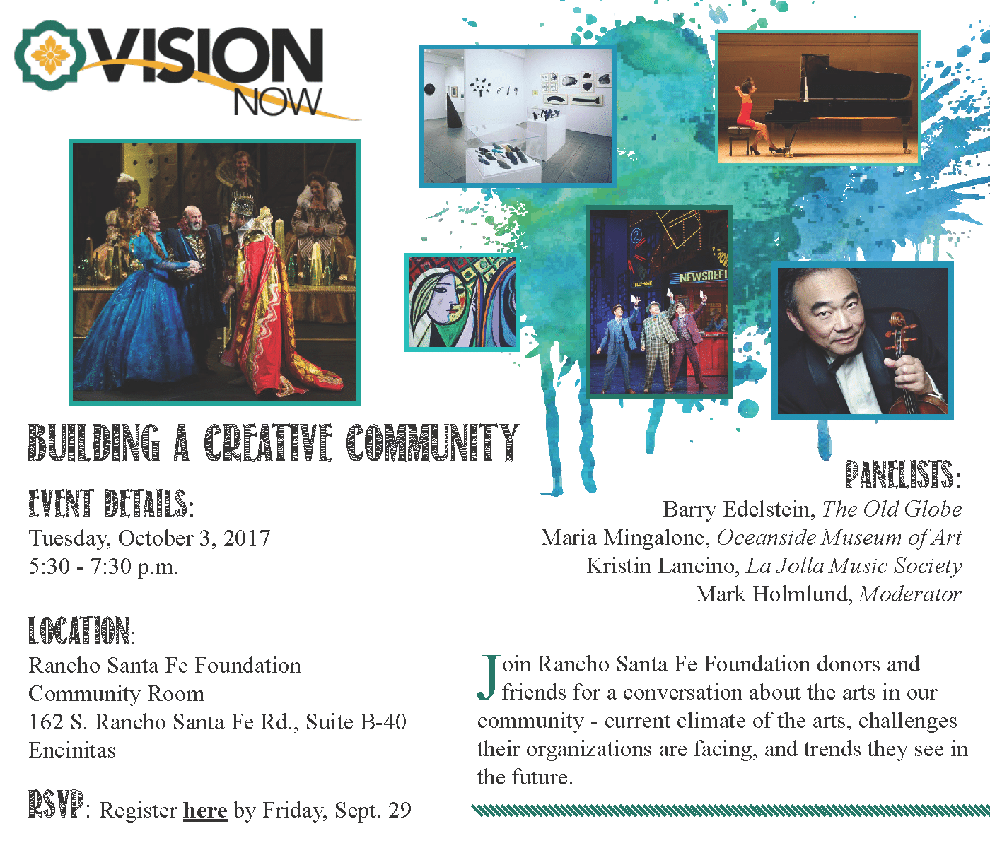 VisionNow Save the Date Fall 2017