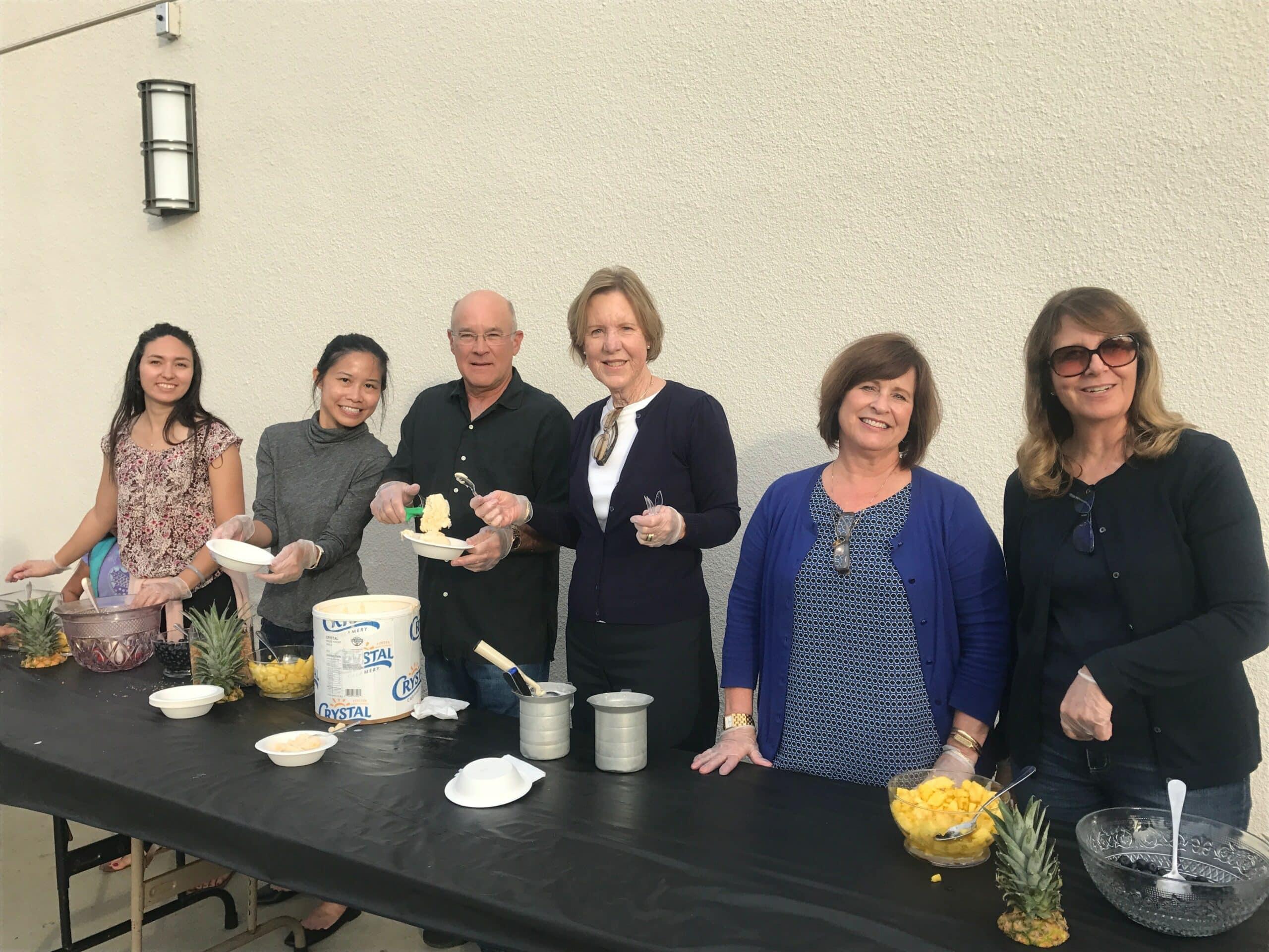 Casa Volunteering Group Picture