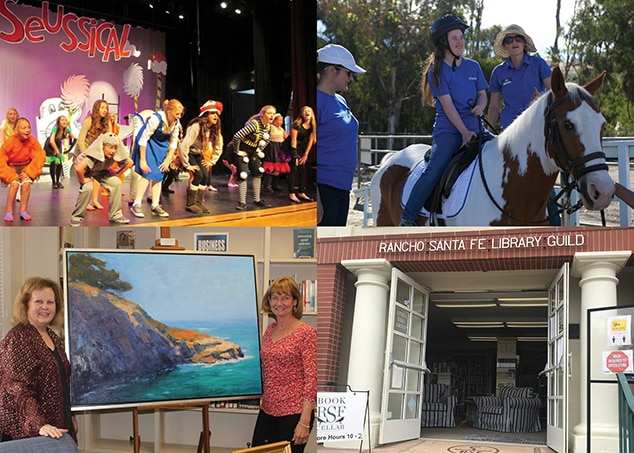 Rancho Santa Fe Library, Art Guild, and School, Helen Woodward Animal Center